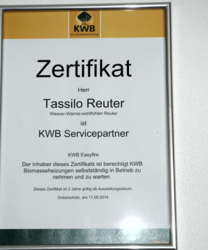 kwb servicepartner reuter
